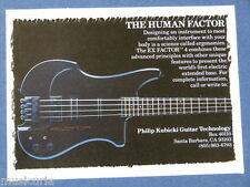 a/x handmade greetings / birthday card KUBICKI FACTOR BASS ad