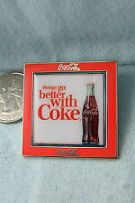 WILLABEE & WARD PIN THINGS GO BETTER WITH COKE