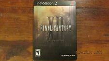 PLAYSTATION 2 FINAL FANTASY XII COLLECTORS EDITION 2 DISC SET VIDEO GAME