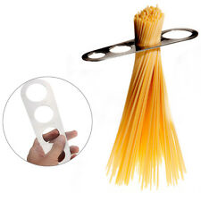 Stainless Steel Pasta Spaghetti Measurer Measure Tool Kitchen Gadget Sliver New
