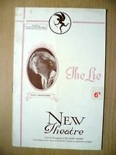New Theatre- Mary Moore & Sybil Thorndike in THE LIE by Henry Arthur Jones