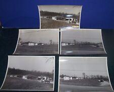 """5 Vintage 8"""" x 10"""" Photographs - Buildings - Fette Photographer St Louis Mo"""