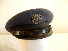 Vintage US Airforce Enlisted Service Cap Hat 7 1/8 Air Reserve Insignia Military