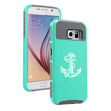 For Samsung Galaxy S5 S6 S7 Edge S8 + Shockproof Impact Hard Case Anchor w/ Rope