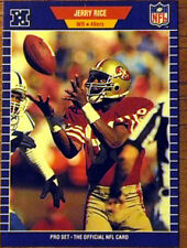 1989 Pro Set Jerry Rice #383 Football Card