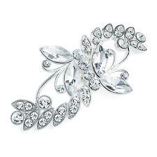 Silver Colour Crystal Hair Clip Ladies Hair Accessories Hair Clips
