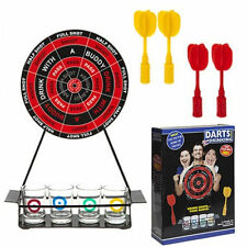 Velcro Dartboard Adult Drinking Darts Game & Shot Glasses Stag Hen Party 617006