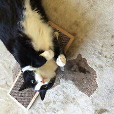 New Cat Kitten Scratch Pad Toy Play Corrugated Safe Card Board Scratcher bed