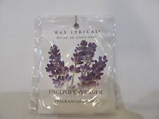 Wax Lyrical ENGLISH LAVENDER Mini Scented Sachet 10g CAR & SMALL ROOM
