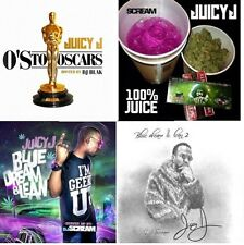 JUICY J (4-CD set)- O'S TO OSCARS,BLUE DREAM AND LEAN 1&2 + 100% JUICE- OFFICIAL