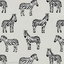 Zippy Zebra - Soft Gray - FLANNEL by Michael Miller , cotton quilting fabric