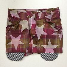 Very Rare Vivienne Westwood MAN Star Print Madras 'Pirate' Shorts Size 50 UK M/L