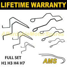FOR MAZDA MITSUBISHI UNIVERSAL HEADLIGHT BULB RETAINING SPRING CLIP H1 H3 H4 H7