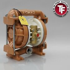 "Nomad 1"" NTG25 / M2 / T2 Clamp Band Air Diaphragm Pump - Ali/Buna-Nitrile"