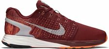 NIKE LUNARGLIDE 7 FLASH Correr Zapatillas Zapatos Gimnasio UK Size 8.5 (EUR 43) Team Rojo