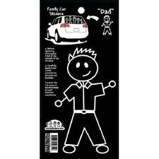 Family Car Stickers 5 inches tall Vinyl Auto Decal, Male Adult - Dad