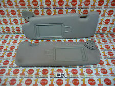 11 12 13 HYUNDAI SONATA LEFT & RIGHT SUN VISOR SET GRAY OEM