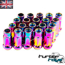 52MM NEO ALLOY BLOX WHEEL NUTS M12x1.5 fit HONDA MAZDA TOYOTA MITSUBISHI FORD