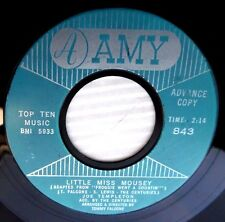 JOE TEMPLETON +CENTURIES 62 rockabilly 45 LITTLE MISS MOUSEY LOVER BE FAIR e8004