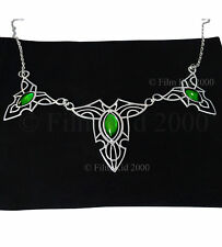 Royal Elven Leaf Brooch Necklace SPECIAL EDITION Hobbit LOTR Lord of The Rings