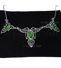 Real de los elfos Hoja Broche Collar Edición Especial Hobbit Lotr Señor De Los Anillos
