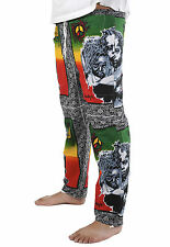 LION OF JUDAH Jamaica RASTA PANTS (R4R13JJ016) - FREE UK P&P 1st Class!
