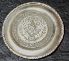 Gran Logia Femenina del Uruguay Masonic Women LODGE small dish 7,5 cm