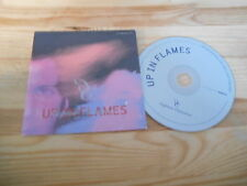 CD Indie Captain Comatose - Up In Flames (10 Song) Promo PLAYHOUSE cb