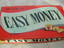 EASY MONEY GAME - 1960'S - 100% - CHAD VALLEY - VINTAGE BOARD GAME - EASY MONEY