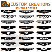 Custom Playstation 4 Light Bar Decal X1 Ps4 Lightbar Stickers many logos