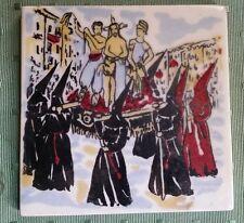 Procession Sanch Perpignan peinture céramique atelier catalan Casimir cavaillé