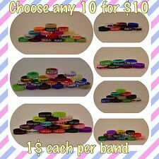 Choose Any 10 Vape Bands Rings For $10 Non-Slip Silicone For Mods Free Shipping!