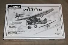 Tupolev Ant-5, I-4, I-4Z Model, 1/72 Scale airplane, unopened still in plastic