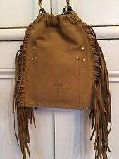 NWT Jerome Dreyfuss Fringed Leather Gary Bag