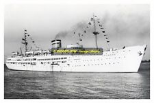 rp12288 - German Liner - Ariadne , built 1951 ex Patricia - photo 6x4