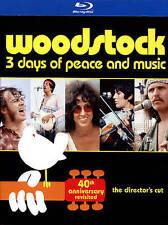 Woodstock: Three Days of Peace and Music (Blu-ray, 40th Anniversary Limited Ed.)