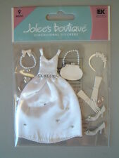 JOLEE'S BOUTIQUE STICKERS - THE BRIDE wedding dress gown