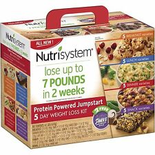 Nutrisystem 5 Day Protein Powered Jumpstart Weight Loss Kit