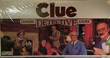 New Vintage 1986 CLUE Classic Detective Board Game Parker Brothers Sealed
