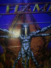 IN FLAMES - CLAYMAN POSTER A2 - DEATH METAL TOP