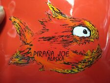 "Pirana Joe 3"" x 4"" Emblem Label - Alaska - Piranha Joe Sticker"