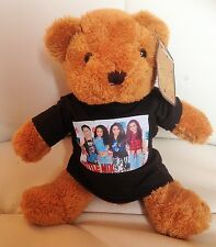 LITTLE MIX 8 inch VERY CUDDLY TEDDY BEAR (black t shirt)
