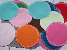 HM washable Make up Remover pads, cotton rounds 2 ply solid flannel 20 pack