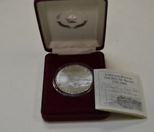 Chrysler Corporation Bill of Rights .999 Silver 1 oz Coin With COA In Box