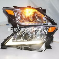 For Lexus LX570 LED Head Lamps Front Lights 2012 to 2014 Year Chrome Housing LZ