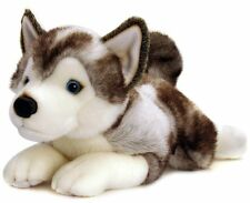 Keel Toys Soft Toy Cuddly  'Storm Husky' Puppy Dog 35cm, Stuffed Animal Teddy
