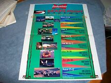 1995 Sears Point Raceway Events Poster Sonoma Ca NASCAR NHRA
