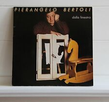 Pierangelo Bertoli DALLA FINESTRA lp album disco vinile 33 giri