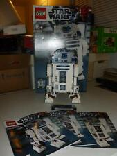 Lego Star Wars 10225 R2-D2 with Mnifiugure Plaque UCS  Box Manual 100% Complete