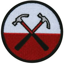 Pink Floyd The Wall Cross Hammers Logo Rock Band Apparel Iron On Applique Patch